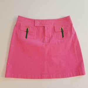 Lilly Pulitzer Corduroy Mini Skirt
